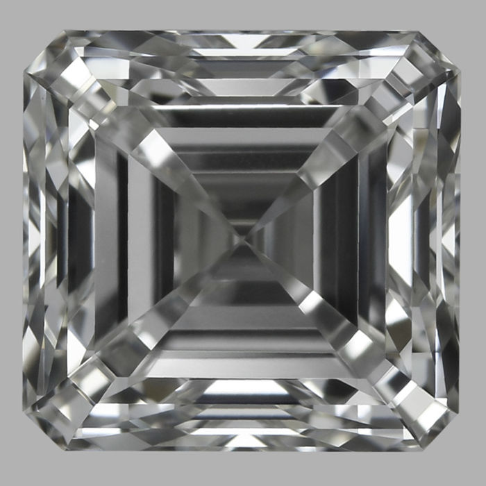 Amazing 1.01ct Square Emerald Cut diamond FVS1  IGI - Low Reserve Price - # 2617