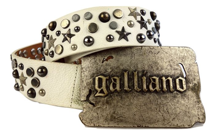 John Galliano - riem - belt