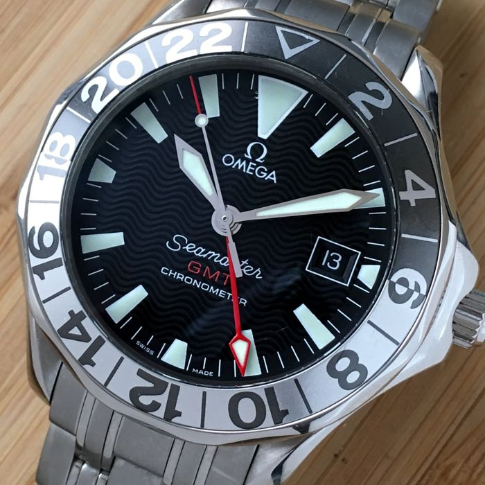 Omega - Seamaster GMT Automatique 50th Anniversary - 25345000 - Heren - 2000-2010