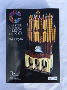 Lego Certified Professional Chester Cathedral The Organ