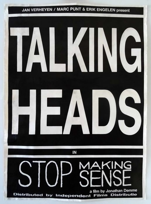 Anonymous - Talking Heads in Stop Making Sense - 1984