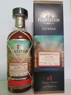 Barbados 11 Years Full Proof Plantation Rum - Limited Release