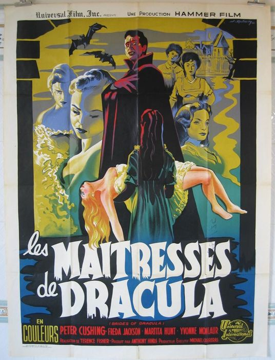 Koutachy - The brides of Dracula / Les maitresses de Dracula (Peter Cushing / Terence Fisher) - 1960