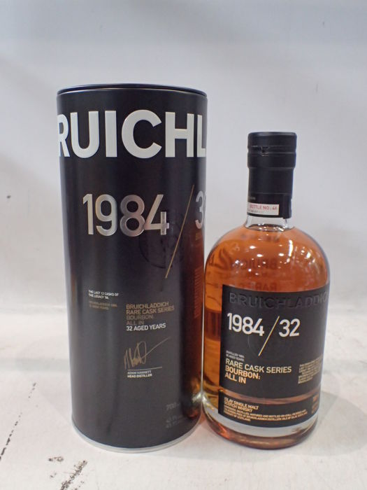 Bruichladdich 1984 32 years old All In - Rare Cask Series