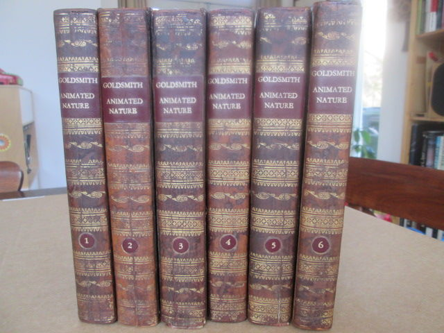 Oliver Goldsmith - A History of the Earth and animated nature - 1805/1805