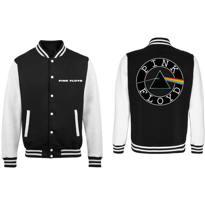 Pink Floyd - Varsity The Dark Side Of The Moon Logo (Unisex XL) / 100% Officially Licensed Merchandise