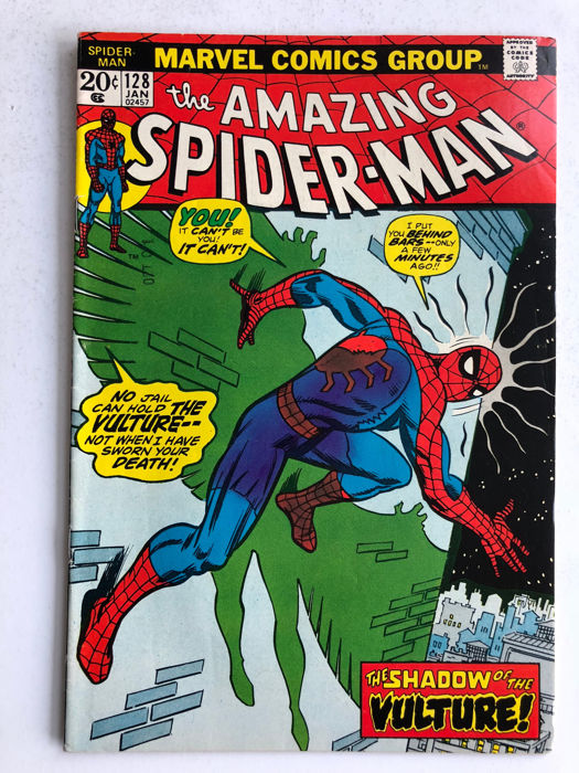Marvel Comics - The Amazing Spider-Man #128 - The Vulture - 1x sc - (1974)