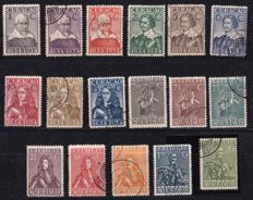 Curacao 1934 - 300 years Administration on Curacao - NVPH 104/120
