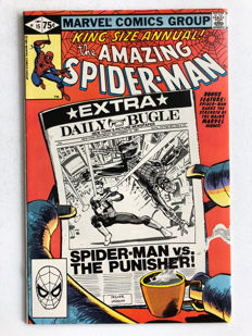 Marvel Comics - The Amazing Spider-Man Annual #15 - The Punisher - Frank Miller - High Grade - 1x sc - (1981)