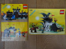 Castle - 6066 + 6059 - Camouflaged Outpost + Knight's Stronghold