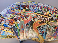 Marvel Comics - Marvel Tales #58 + 59 + 60 + 62 to 69 + 71 to 74 + 76 to 84 + 86 + 87 + 89 + 90 + 92 + 94 to 100 - 36x sc - (1975-1979)