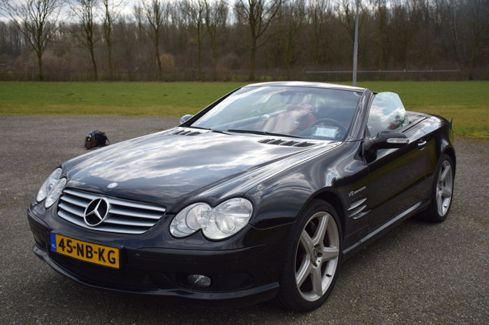 mercedes benz sl55 amg 2003 catawiki. Black Bedroom Furniture Sets. Home Design Ideas
