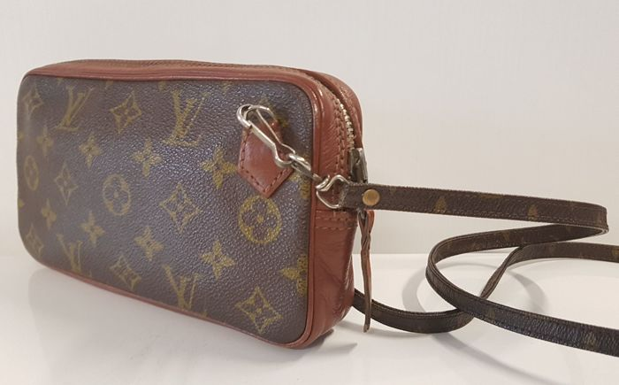 fe8d2548aa8 Louis Vuitton Crossbody tas - Vintage - Catawiki