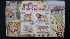 Thematics, Mammals, Wild cats, elephants, monkeys etc. - African Fauna Collection
