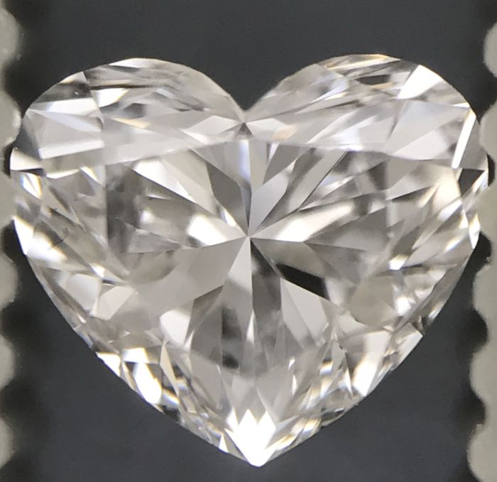 Amazing 0.52 ct Heart Shape DVS1 with Gia Certificate #-2671