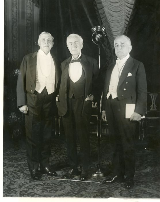 Unknown/Wide World Photos - Thomas Edison, Charles Schwab and Adolph Ochs, New York, 1929