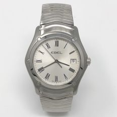 Ebel - Classi 37MM Silver Dial with Roman Markers Quartz  - 1215437 - Herre - NEW