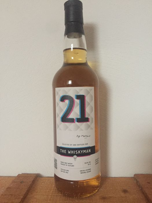 Littlemill 1992 21 years old - The Whiskyman - bottled 2013 - 50,2%  70CL