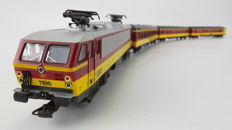 Lima H0 - 149817P - Train set - 4-Delige set 'BeNeLux' met HLE 11.8 - NMBS, NS