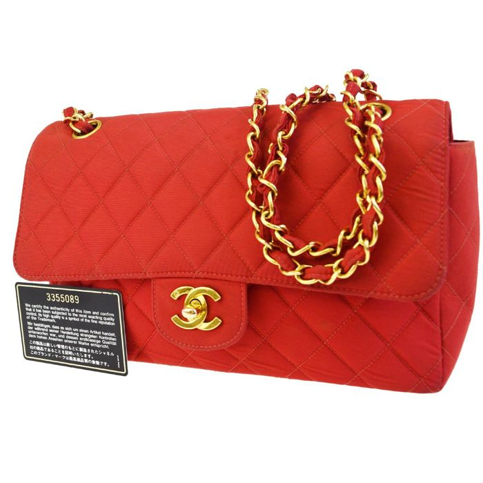 Chanel - Nylon Quilted Flap Shoulder bag - Vintage