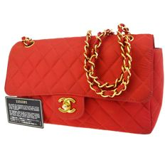 0c08bc2d0e666 Chanel - Nylon Quilted Flap Torba na ramię - Vintage