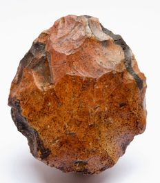 Middle Palaeolithic biface from Egypt - 92 x 80 mm