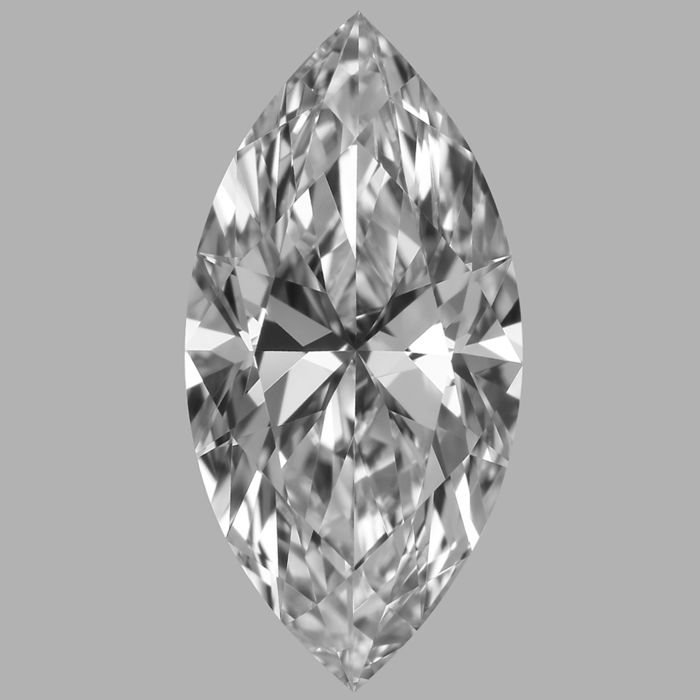 Marquise Shape Diamond  -1.00 CT DIF with GIA Cert -Original Image -10X -#790