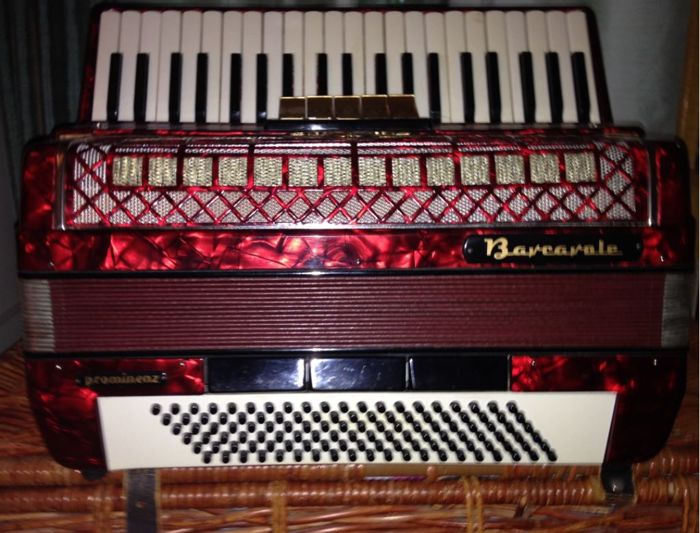 Barcarole piano accordion