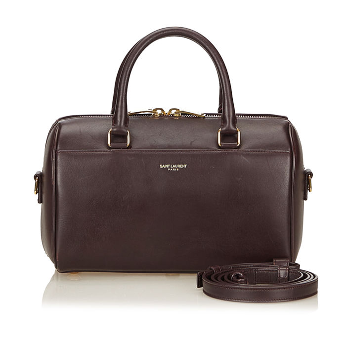 YSL - Leather Baby Duffel