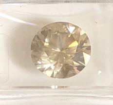 4.29 ct Round brilliant - cut diamond natural K VS2