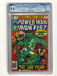Marvel Comics - Power Man and Iron Fist #66 - 2nd Appearance of Sabretooth!! - CGC Graded 9.6 Extremely High Grade!! - 1x sc - (1980)