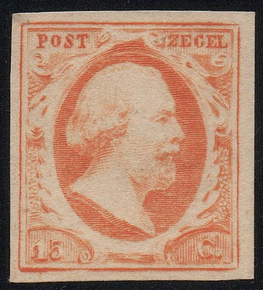 The Netherlands 1852 - King Willem III First emission - NVPH 3