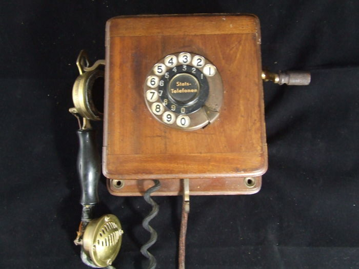 Wall telephone - Picart Lebas Paris - France, early 20th century