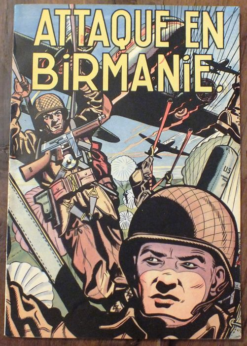 Buck Danny T6 - Attaque en Birmanie - B - EO (1952)