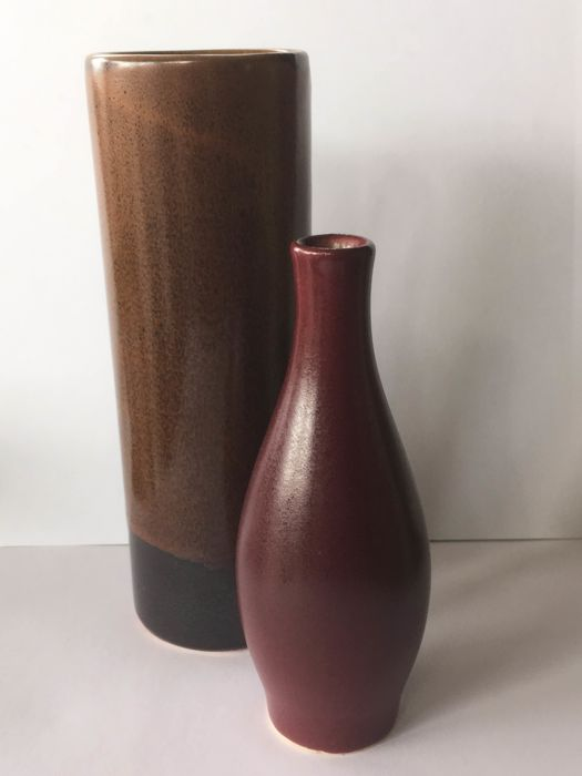 Jan Bontjes van Beek for Alfred Ungewiss - 2 Ceramic Vases