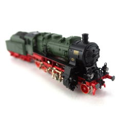 Fleischmann N - 7813 - Steam locomotive with tender - locomotief, type G 8.2, type 1'D h2  - KPEV