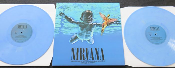 Nirvana - Unreleased: In Utero / Nevermind Sessions Demos & Outtakes * 2LP COLOURED vinyl! *