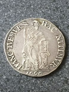 The Netherlands, Frisia - 2 guilders 1696 - Generality (Rare) - silver