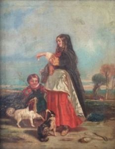 Unknown 19th century - Mother with Child