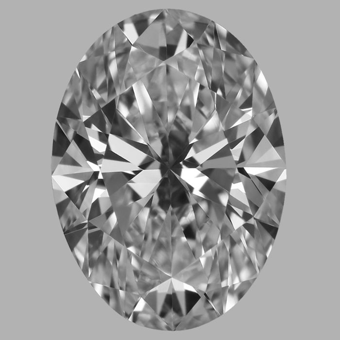 Oval  Shape Diamond  -1.01 CT DIF with GIA Cert -Original Image -10X -#360