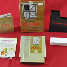 The Legend of Zelda Map Damaged | Nintendo NES