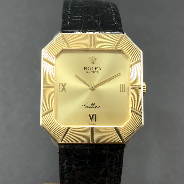 Rolex - Cellini Octagon - Ref.4150 - Men - 1980-1989
