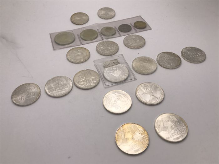 Austria - collection of various coins