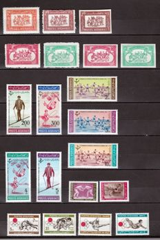 Theme, Theme - Set of stamps and series