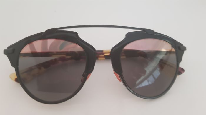 Christian Dior So Real black & havana sunglasses
