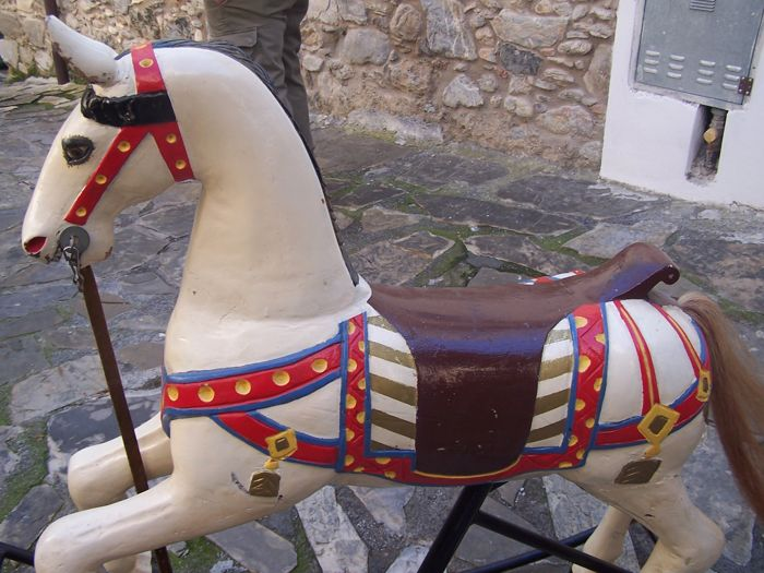 Carousel horse from the 1950s