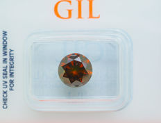 2.22 ct - Fancy Diamond - DEEP Orangy Red  *NO RESERVE*