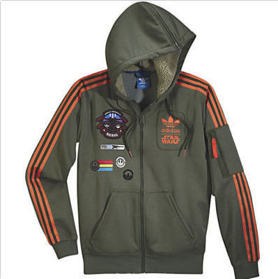 quality design b6922 921d8 Adidas Star Wars Rebel Han Solo Jacket - Limited Star Wars Edition - Size L