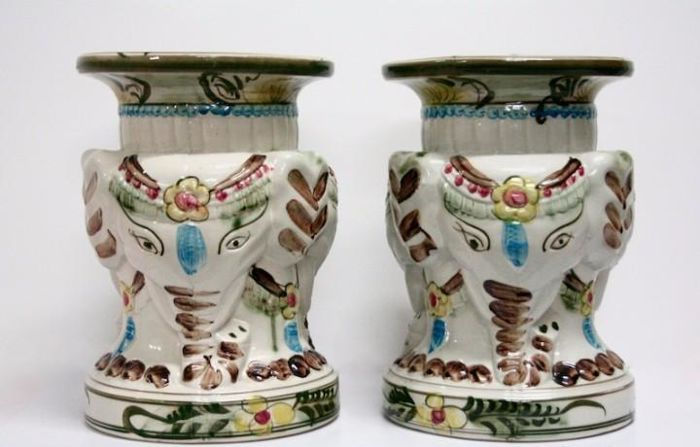 Ceramic stools - China - 2nd half 20th century