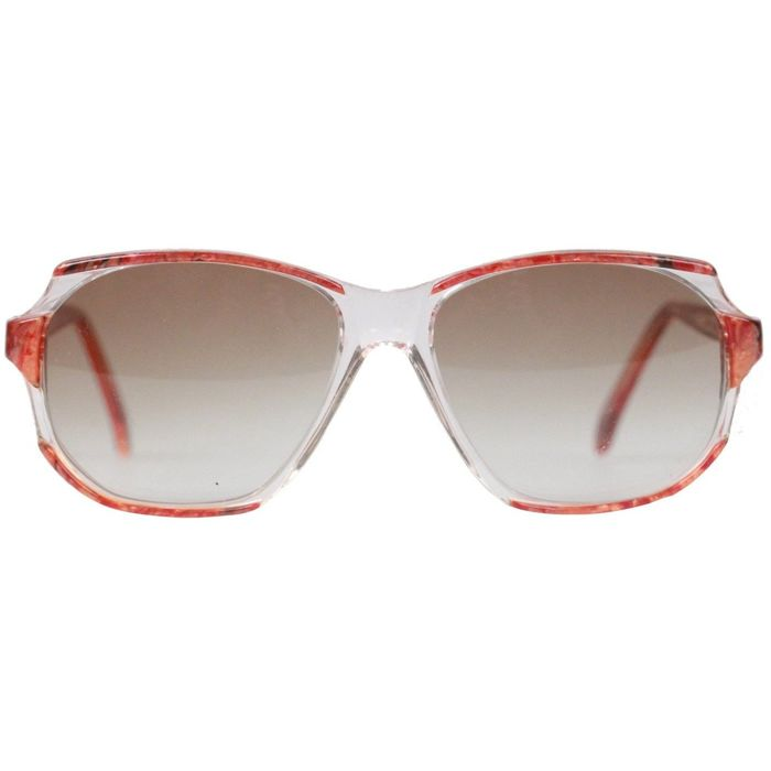 YVES SAINT LAURENT Vintage Marbled Sunglasses NAXOS 825 54mm